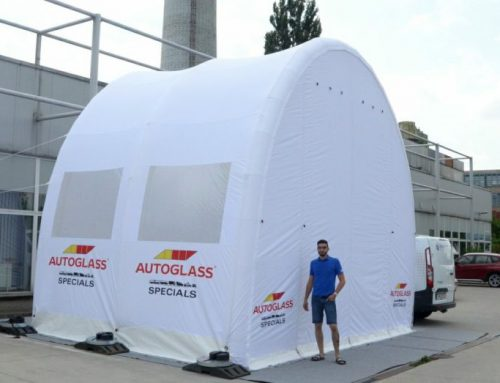 Inflatable Workshops for Autoglass BodyRepair