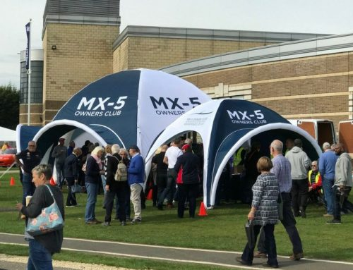 Axion Spider Event Tent is a Hit with MX-5 Club