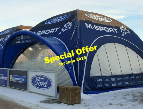10% Off Event Tents – June 2019