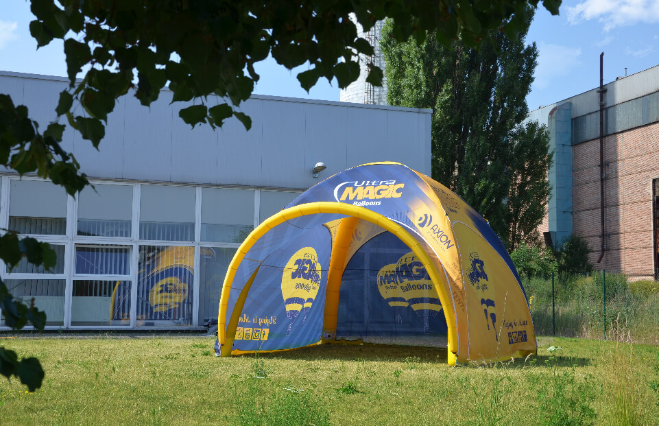 AXION Lite Inflatable Event Tent for Ultra Magic