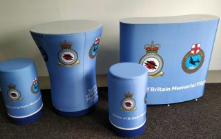 Axion Inflatable Furniture for the RAF BBMF - Inflatable Desks, Tables & Seating