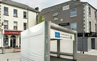 Axion Cube Inflatable Event Tent for Newry BID - 5m x 5m Size