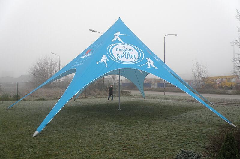 Tipi Event Tent - 15m diameter tipi tent for Passion Du Sport