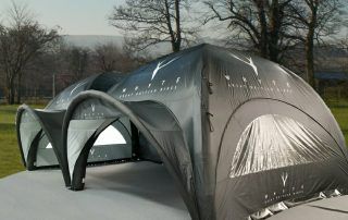 Whyte Bikes choose Axion Inflatable Event Tents - 2 x 50m2
